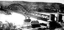Die Ludendorffbrücke - weltweit berühmt als die Brücken von Remagen