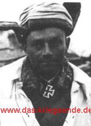 Arthur Jüttner im Jahr 1942 als Major im Raum Ramuschewo / Lowat.