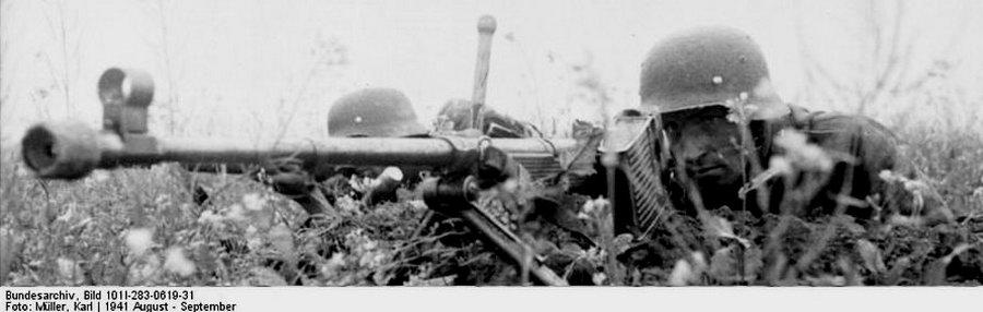 Deutsche Soldaten mit Panzerbüchse 39, Bild Bundesarchiv 101I-283-0619-31<br />