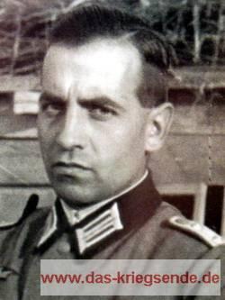 Hans Scheller. Im März 1945 unschuldig hingerichtet.