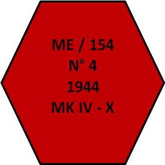 Magnesium Elektron Ltd, Charge 154 Zünder Nummer 4 Jahr 1944 Ausführung MK IV, mit Sprengladung