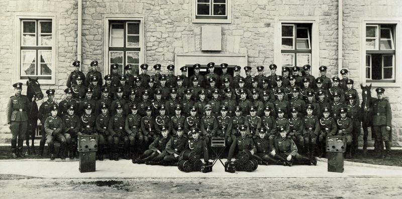 Vor dem Frankreichfeldzug in Niederlahnstein