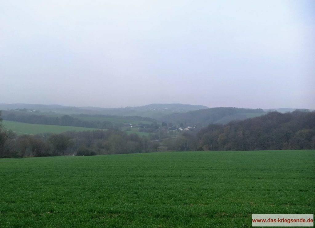 Blick von Uckerath in Richtung Wellesberg.