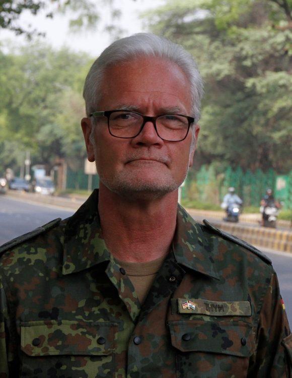 Oberst i.G. Jürgen Thym - Fotoquelle: Bundeswehr PIZ San
